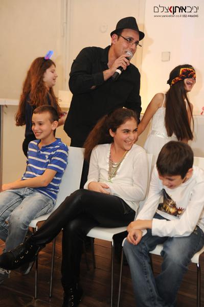 צילום לאירועי בת מצווה במועדון בתל אביב, משחקי חברה