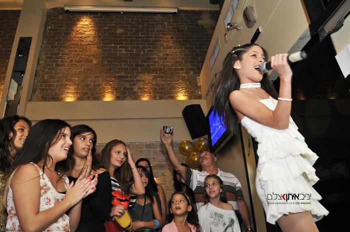 צילום מסיבת בת מצווה במועדון בתל אביב - צילום אלבום בת מצווה