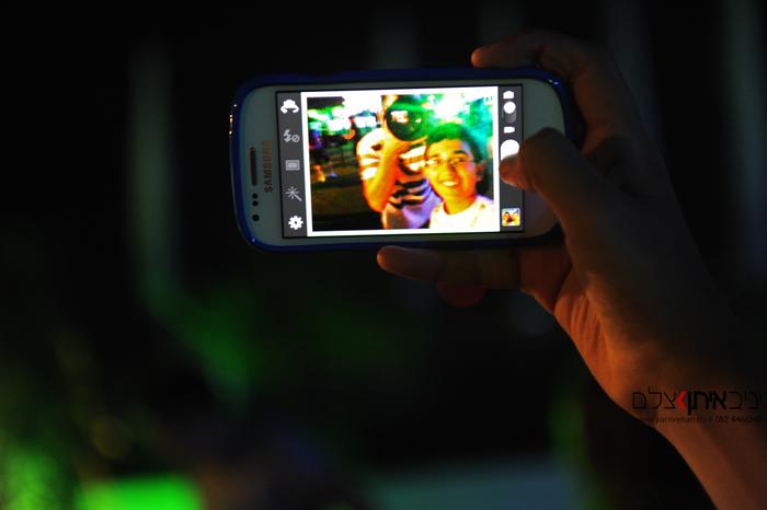 צילום סלפי באירוע בת מצווה באולם קיטרו בהרצליה