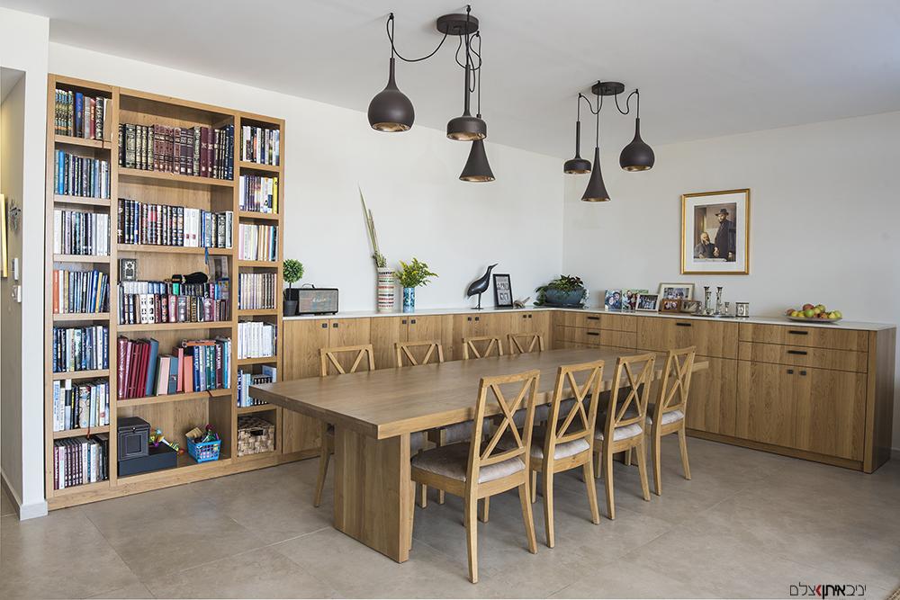 פינת ישיבה בדירה בירושלים