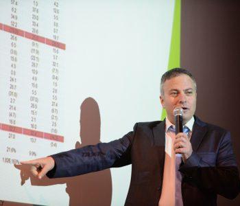 צילום כנסים לחברות - במהלך הרצאה של חברת טופ אלפא ברמת אפעל