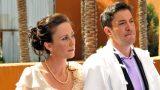 התרגשות של החתן והכלה בטקס החופה, אולמי אגדתא