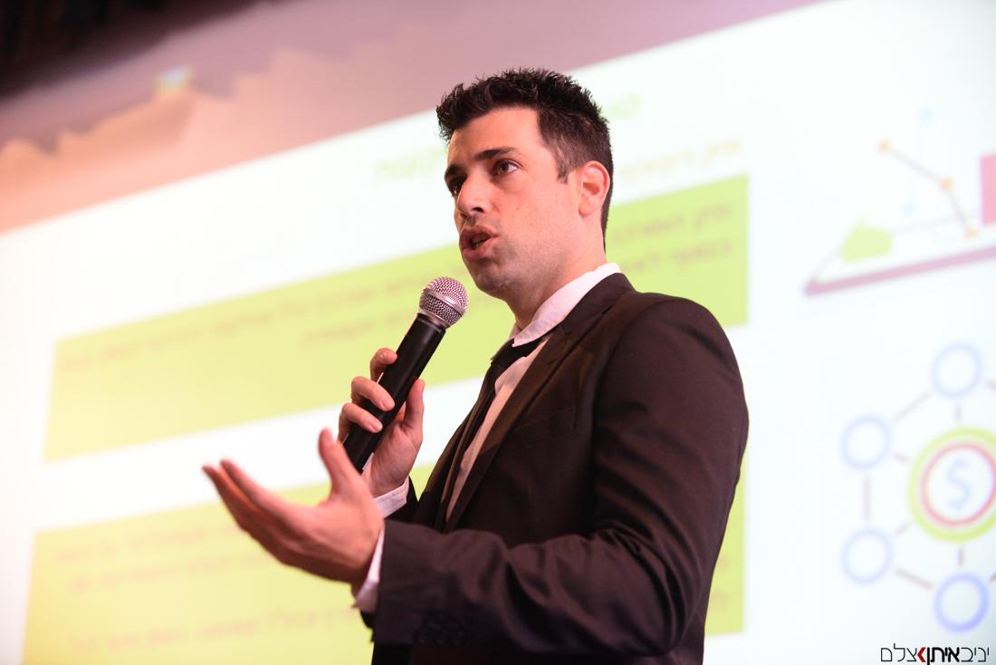 צילום הרצאה מרתקת על השקעות הון לאנשי עסקים