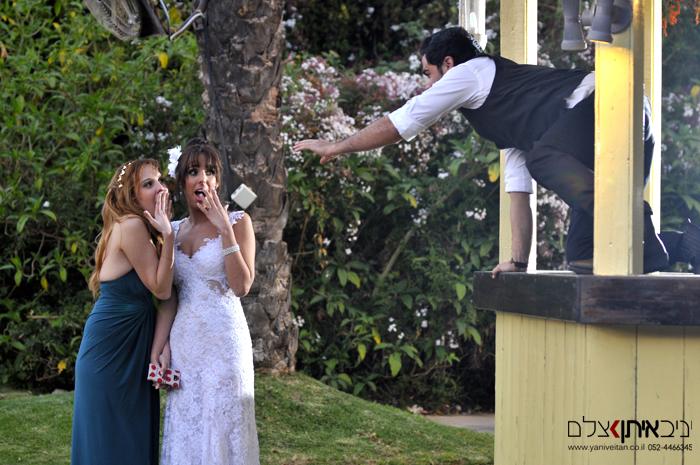 צילומי חתונה בטבע - צלם אירועים במרכז מתוך חתונה שצולמה בבאר של סבא