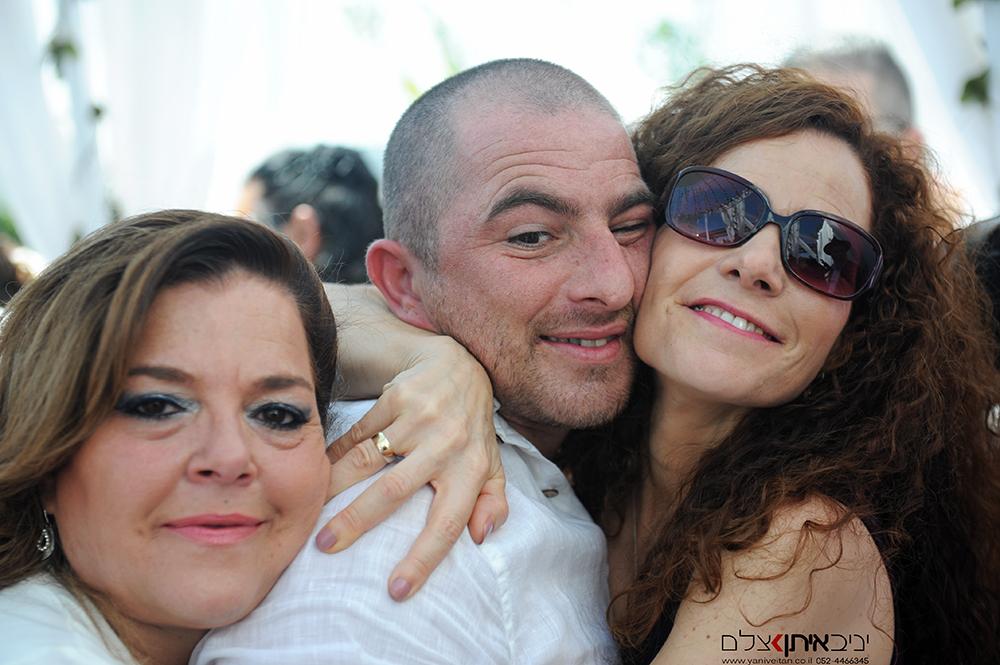 צילום המשפחה רגע אחרי החופה