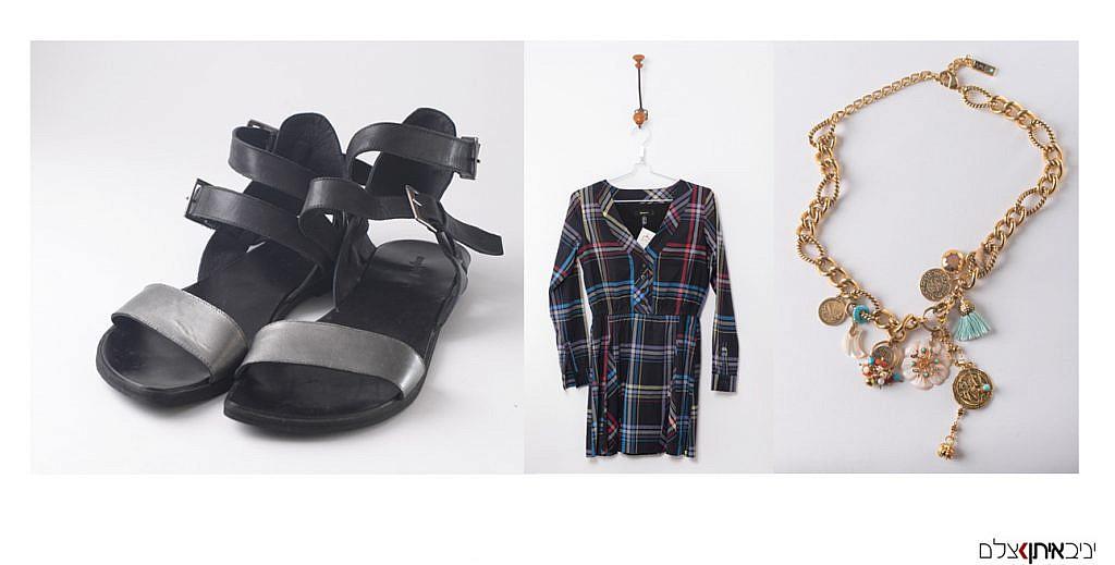 צילום בגדים בחנות יד שנייה - צילומי מוצר למכירה באתר אינטרנט