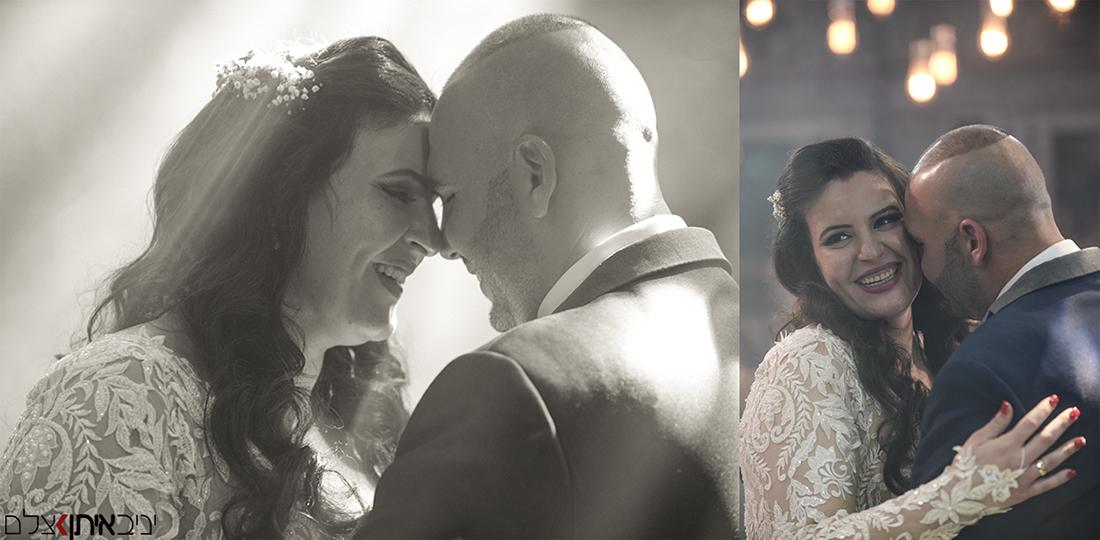 צלם חתונות אומנותי שתופס את הרגע