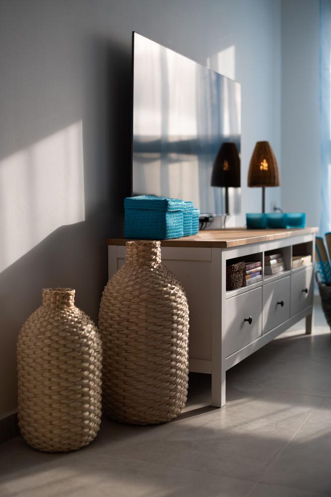 תמונת אווירה לסלון בדירת AIRBNB