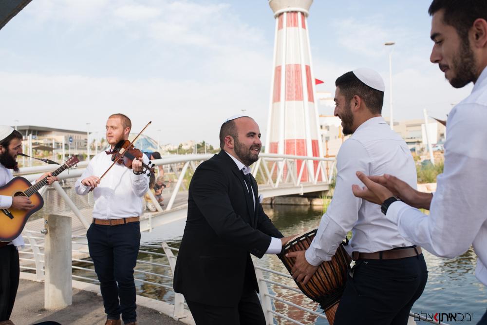 צילום חתונות לציבור הדתי לפני החופה