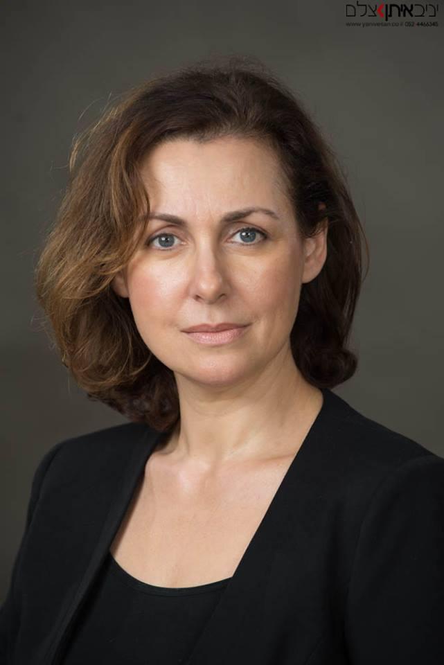 תמונת פורטרט תדמיתי של אשת עסקים