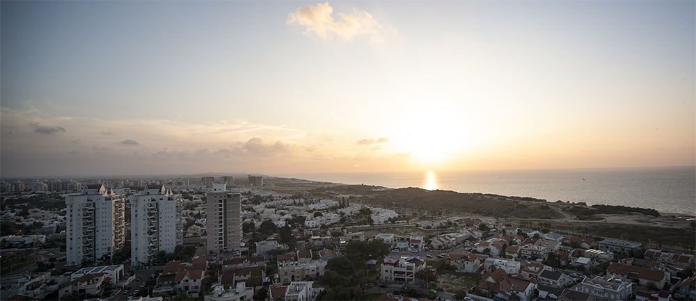 שקיעת הים מפנטהאוז בדירה למכירה באשדוד